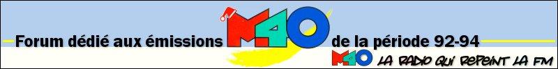 M40 Emissions , Mégamix et Playlistes !