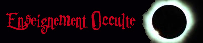 Enseignement Occulte
