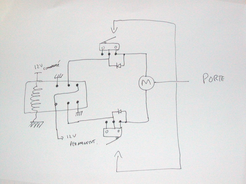 Schema inverseur moteur 12v