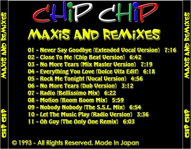 Chip Chip - Maxis And Remixes