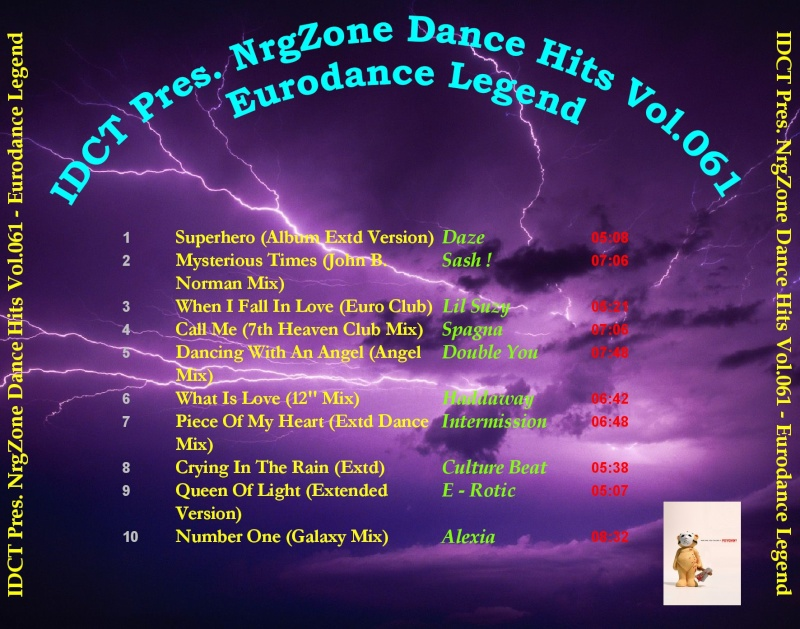 NrgZone Dance Hits Vol.061 - Eurodance Legend