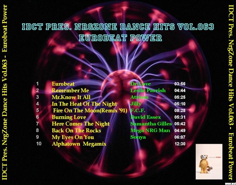 NrgZone Dance Hits Vol.063 - Eurobeat Power