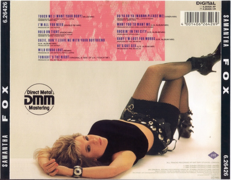 Samantha Fox - Touch Me (Special Remix Edition)
