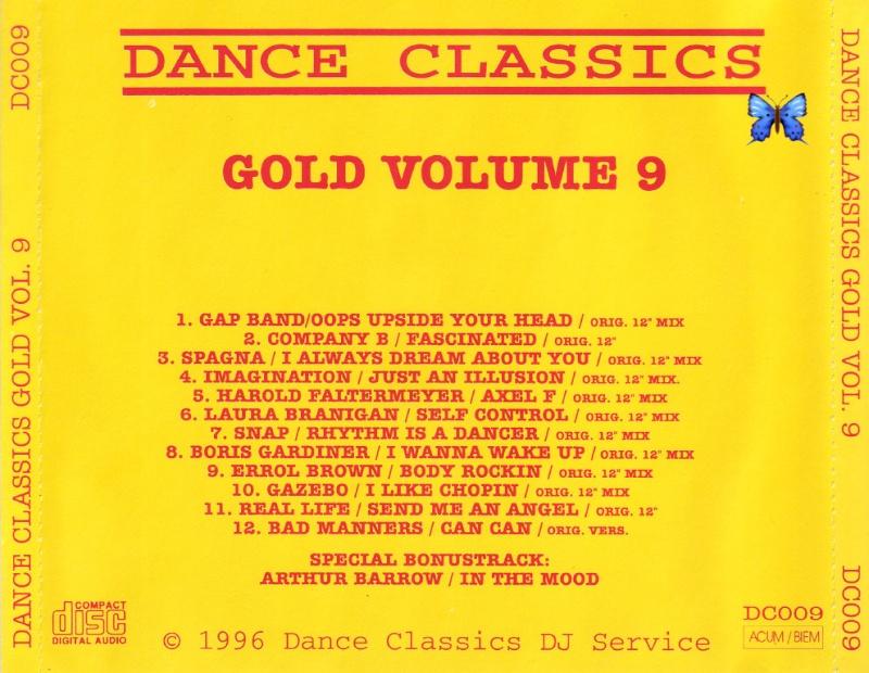 Dance Classics - Gold Vol.9