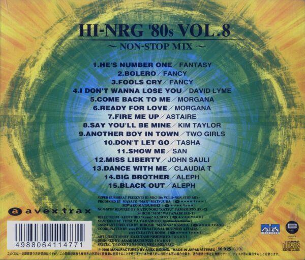 Super Eurobeat Presents Hi-NRG '80s Vol. 8