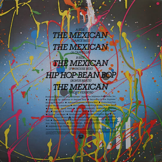 Jellybean - The Mexican (12'')