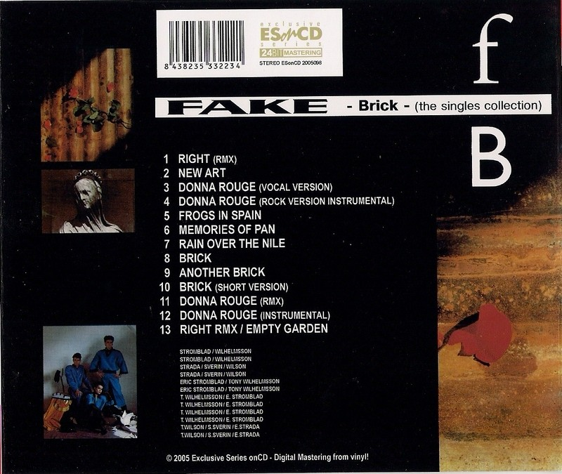 Fake - Brick - The singles collection