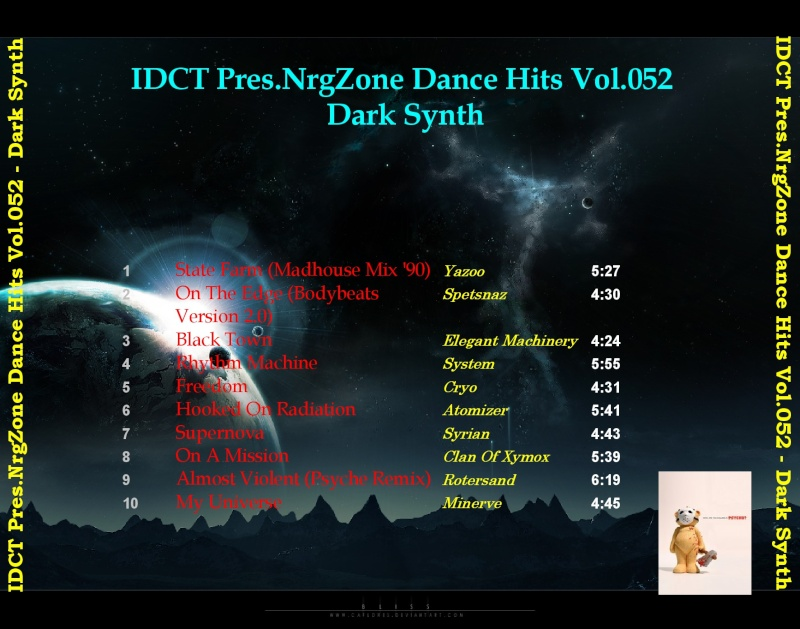 NrgZone Dance Hits Vol.052 - Dark Synth