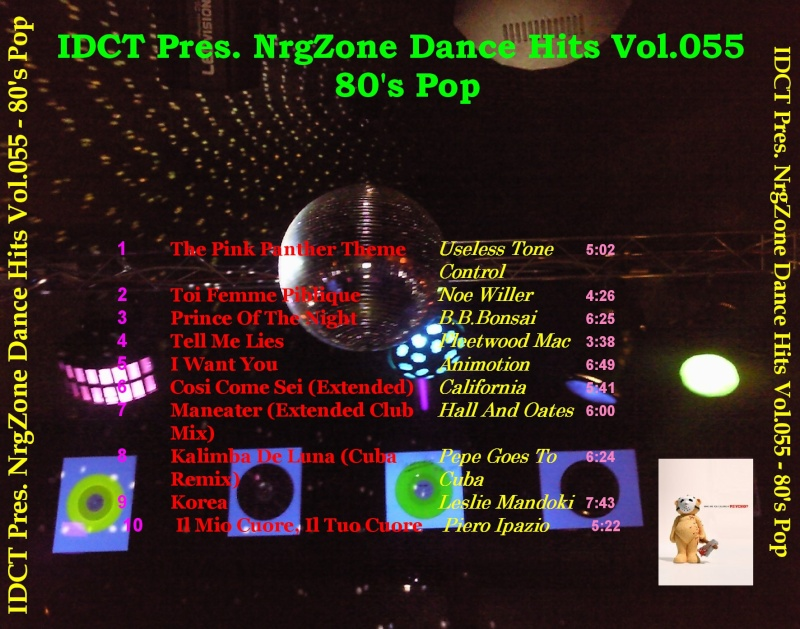 NrgZone Dance Hits Vol.055 - 80's Pop