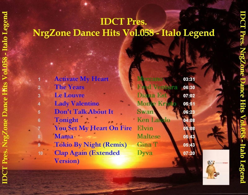 NrgZone Dance Hits Vol.058 - Italo Legend