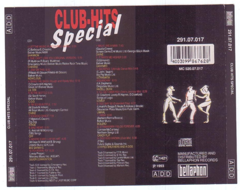 Club Hits Special 2cd