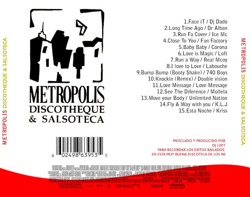 Metropolis Discotheque By DJ Loft