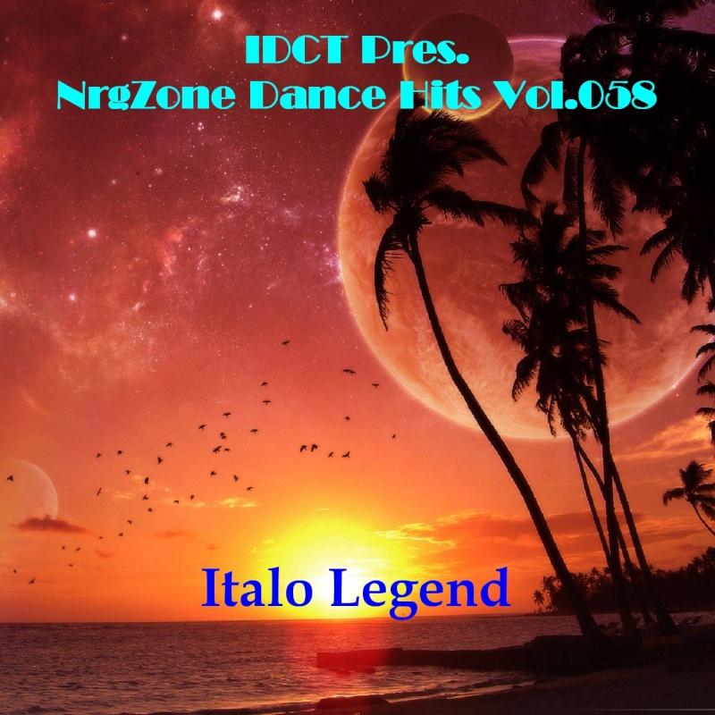 Cover Album of NrgZone Dance Hits Vol.058 - Italo Legend