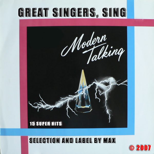 Great Singers Sing Modern Talking