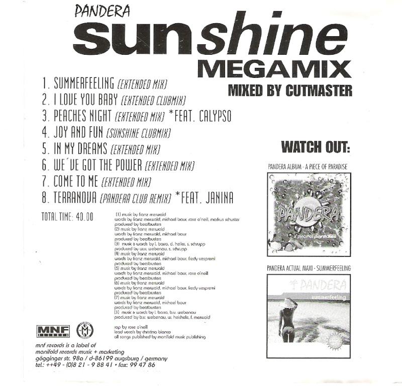 Pandera - Sunshine Megamix