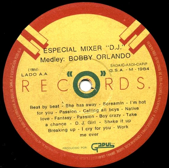 Special Mixer D.J. - P.Cowley & B.Orlando