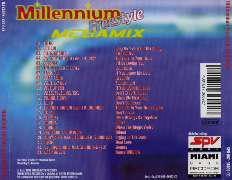 Millennium Freestyle Megamix 1