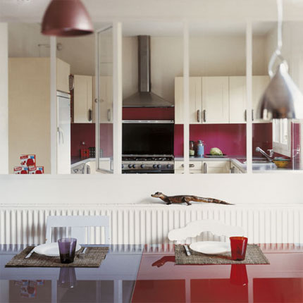 Verri res int rieures - Passe plats pour cuisine ...