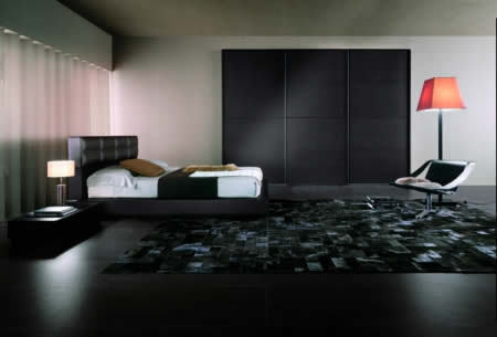 Chambre sombre for Chambre homme