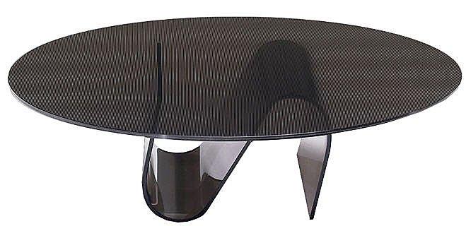 table basse slide by natuzzi. Black Bedroom Furniture Sets. Home Design Ideas