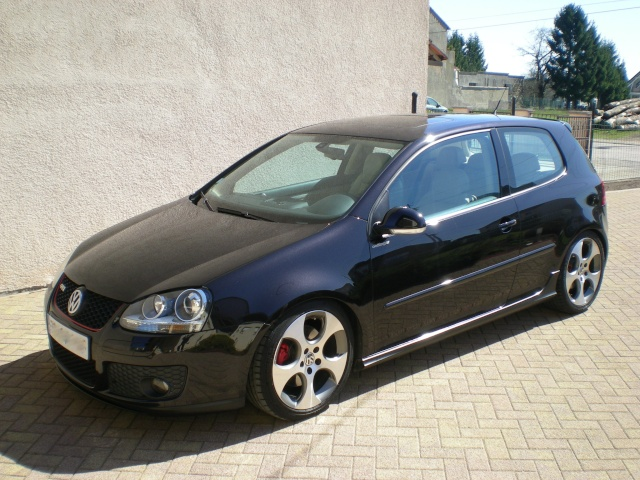 golf 5 gti full options  cuir beige  250 cv  vends