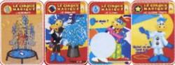 GERVAIS : Cartes Cirque Magiques