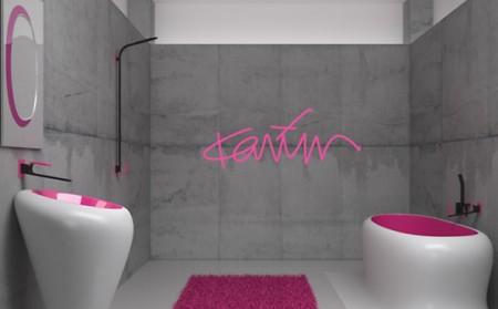 salle de bain t quelle couleur avec le fushia - Salle De Bain Fushia Et Vert