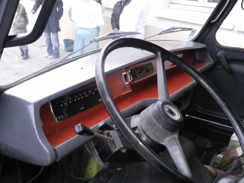 Renault estafette toftof49 for Interieur estafette