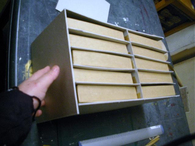 Tuto pour faire une boite en carton tiroirs les - Tuto boite en carton ...
