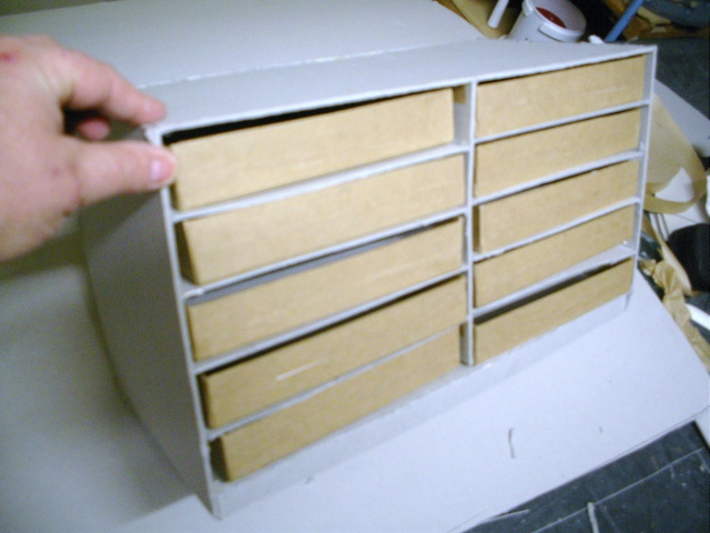Tuto pour une boite tiroirs en cartonnage - Customiser boite en carton ...