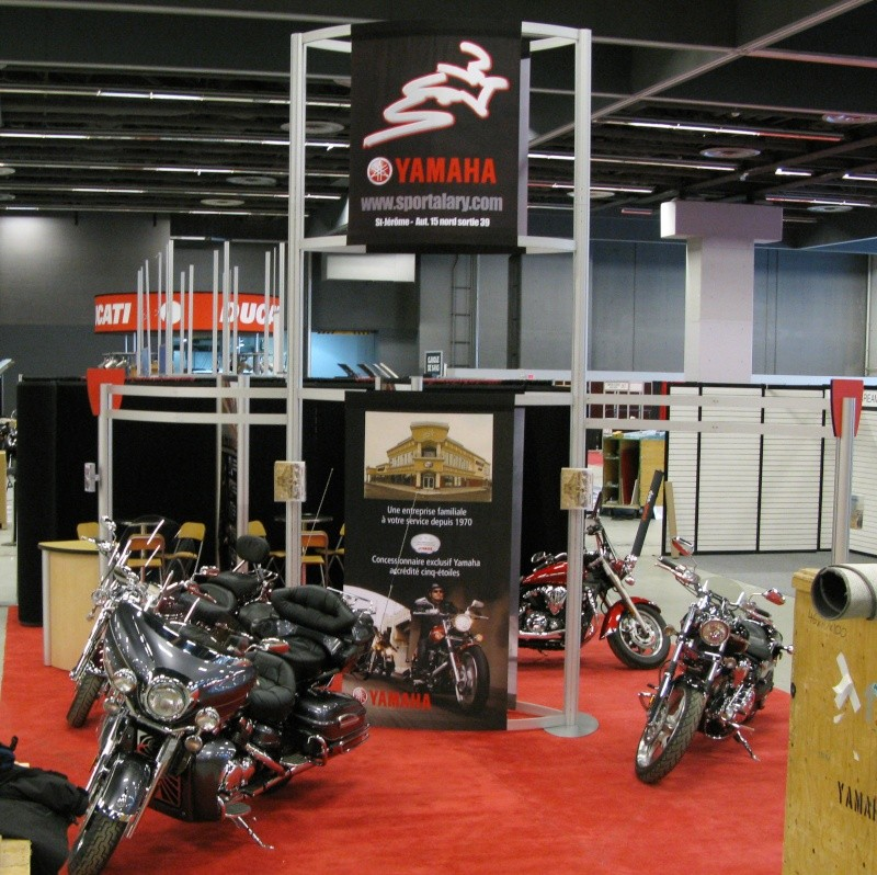 Salon moto de montr al sport alary - Salon de moto montreal ...
