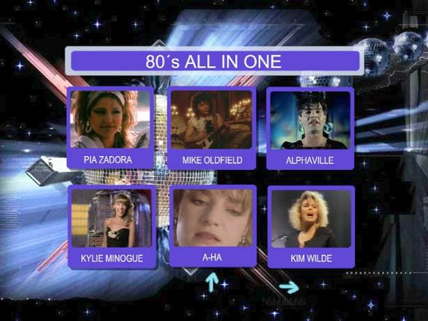 Super Disco 80's Hits - ALL IN ONE  (DVD9) DVD 9 - 8,1Gb - Pal - ISO - HQ - Rar -  Only The Best!