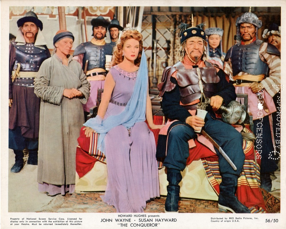 Image result for the conqueror 1956