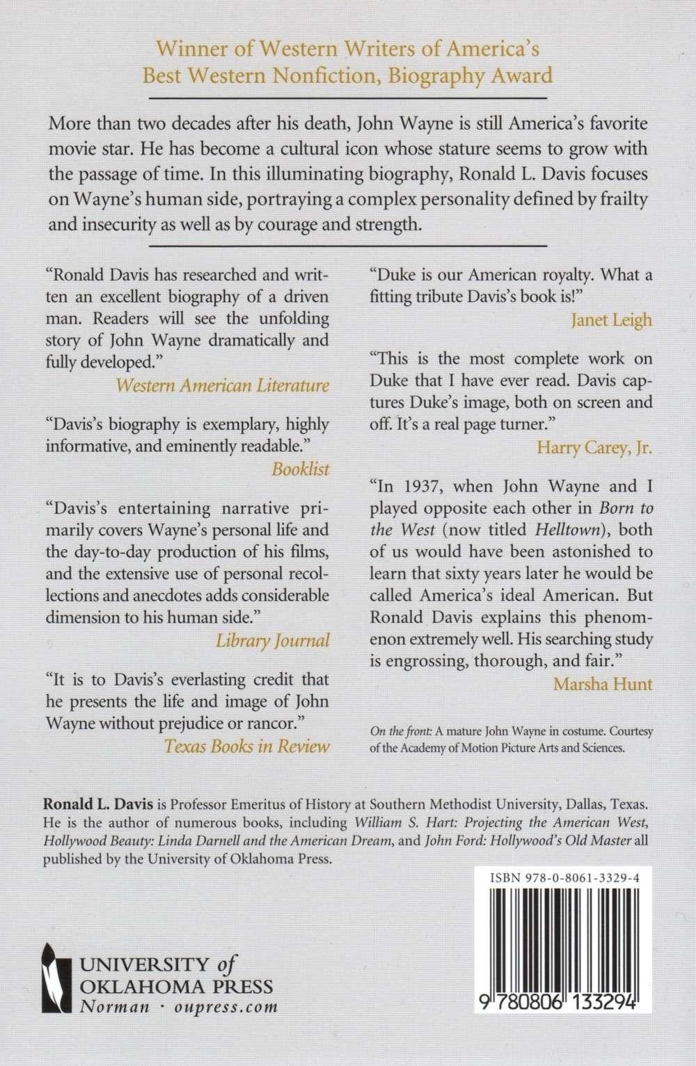 Livres en anglais sur le DUKE.