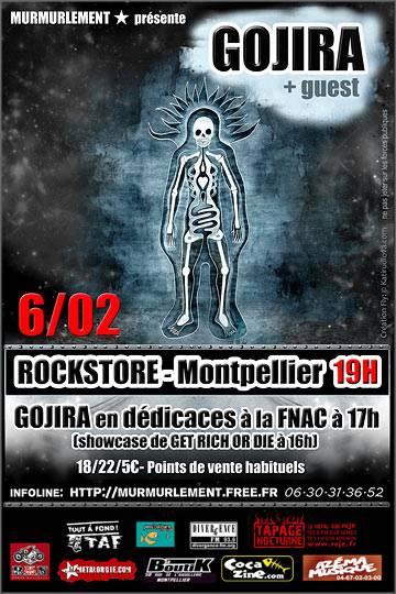 Gojira @ Montpellier