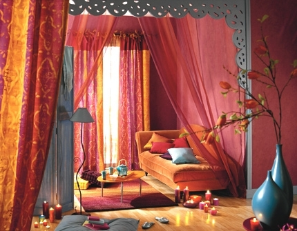Chambre style orientale princesse des milles et une nuit for Chambre style orientale