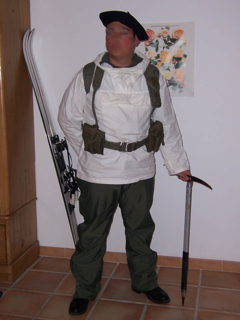 tenue chasseur alpin