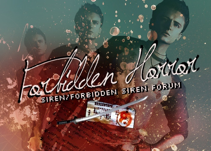 Forbidden Siren Fan Forum