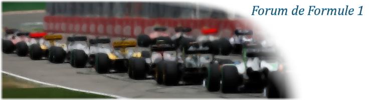 Forum de Formule 1