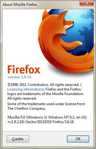 """حصريـاً المتصفح العملاق فايرفوكس بإصدارتيه """" Mozilla Firefox 3.5.18 & Mozilla Firefox 3.6.16 """" باللغتين العربيه والانجليزيه تحميل مباشر"""