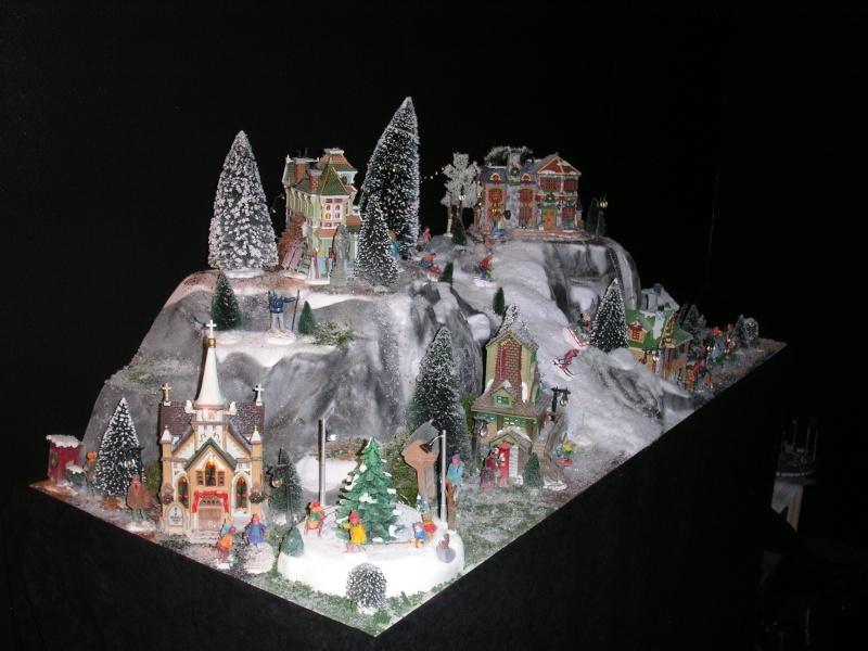 Lemax Decoration Noel Patinoire