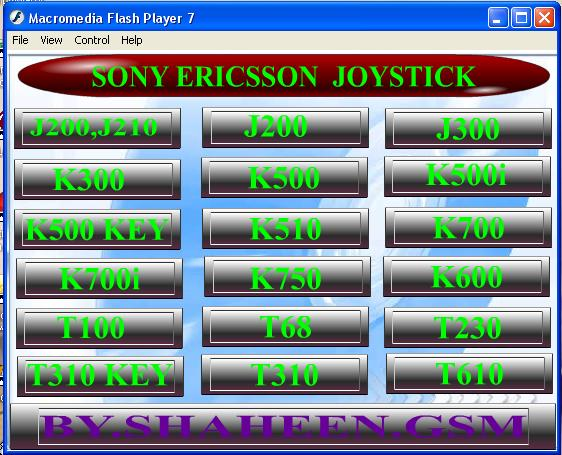 SONY ERICSSON JOYSTICK.. by aliasghar