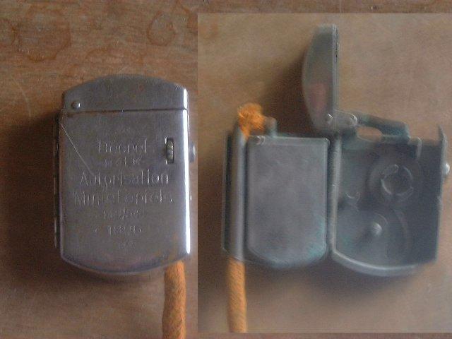 Extrêmement Briquets à allumage méche ou cigarette particulier SW79