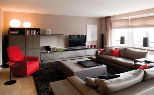 comment peindre les murs de ma salle manger c rus e beige gris. Black Bedroom Furniture Sets. Home Design Ideas