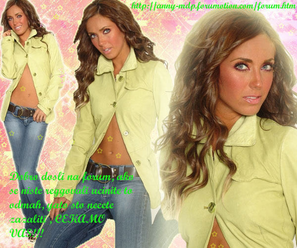 ♥Magic World of Anahi Serbia♥