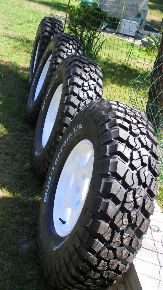 Bf Goodrich All Terrain >> Vos pneus en TT...modéles, dimensions, choix, utilisations ...