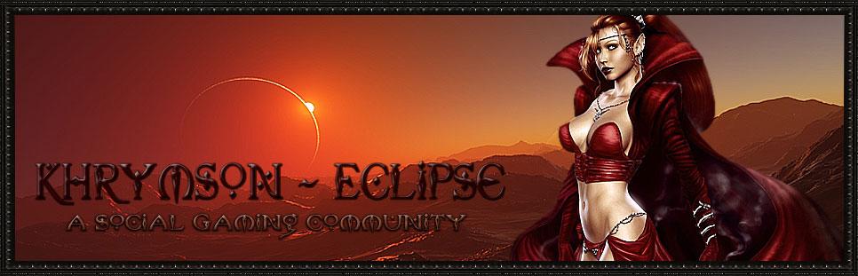 Khrymson ~ Eclipse
