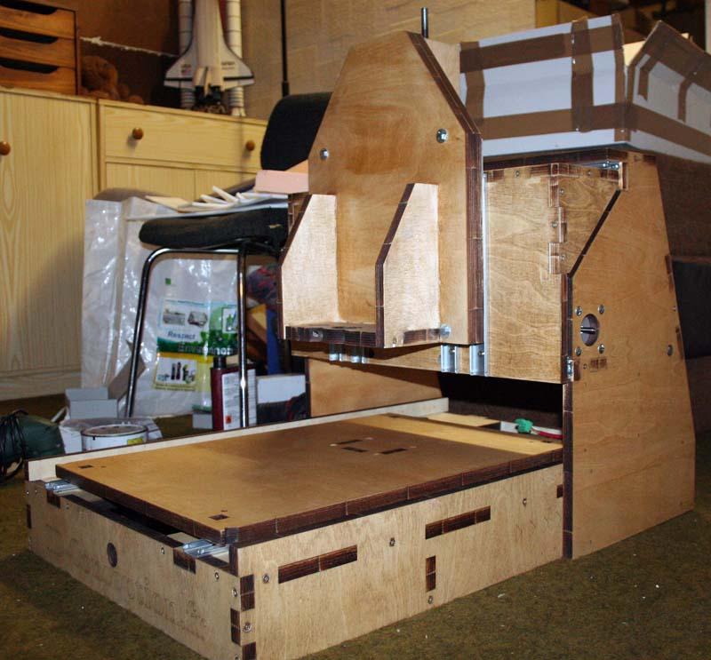 Fraiseuse Cnc Bois - Mini Fraiseuse CNc en Kit