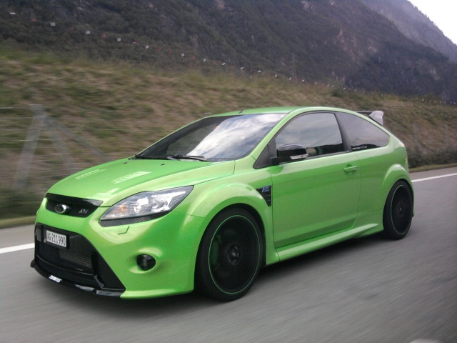Coooker S Green Beast Ford Focus Rs Mk2