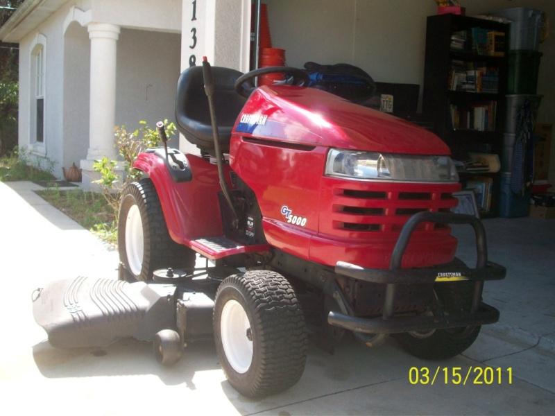2004 Craftsman Gt5000 Garden Tractor : Gt